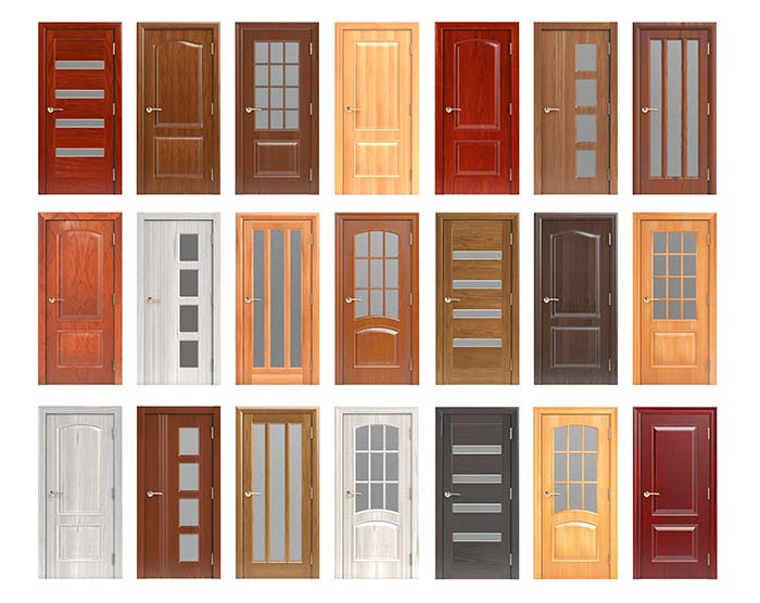You can Choose from Different Door Designs and Materials