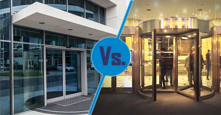 Automatic Door vs. Revolving Door Dilemma: Make the Right Choice for Your Business