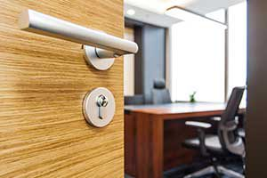wood door are ideal for reducing noise.