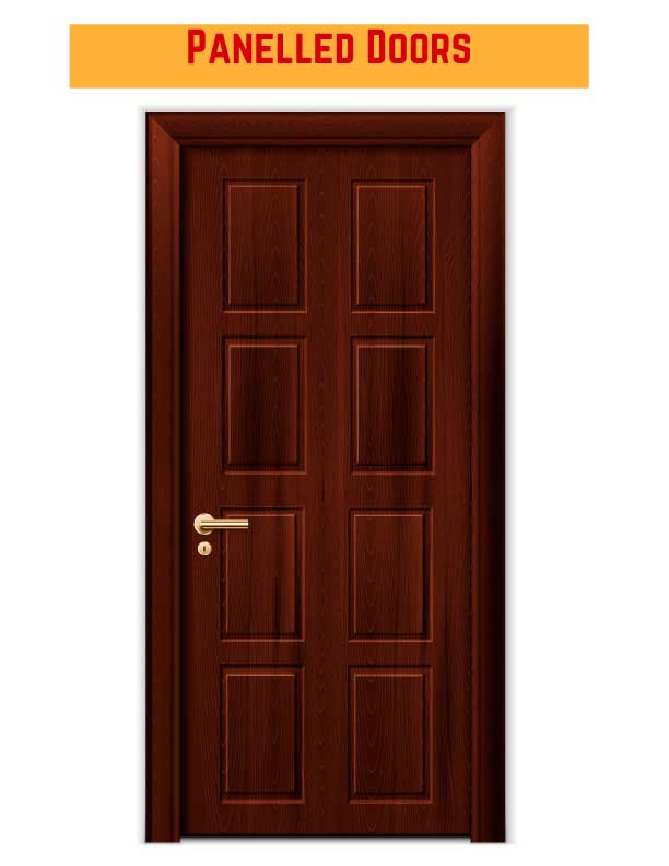 Commercial Wood Panelled Doors