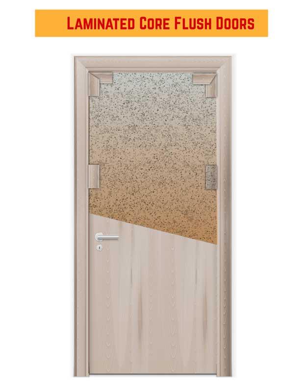 Laminated Core Flush Doors